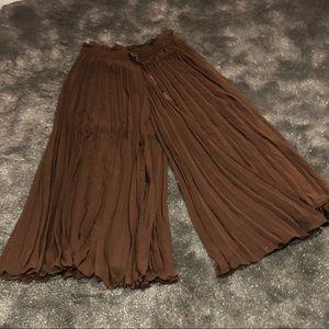 Zara flair gaucho pants